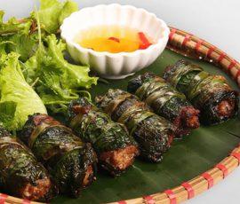 Lươn cuốn lá lốt càng ăn càng ngon