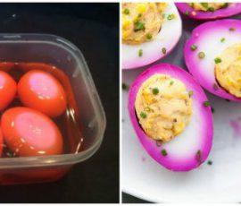 Món trứng ngâm chua ngọt vừa ngon vừa bắt mắt