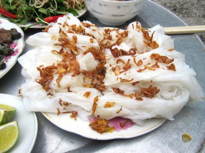 Bánh ướt Soup lươn