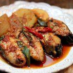 Món cá lóc đồng kho củ cải ngon đậm vị