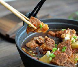 Món canh thịt bò cho ngày se lạnh