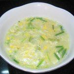 Món cháo trứng bằng cháo ăn liền