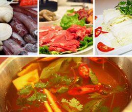 Món lẩu thái hải sản chua cay ấm bụng ngày mưa