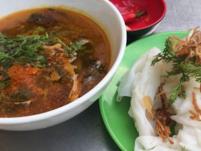 Soup lươn bánh ướt