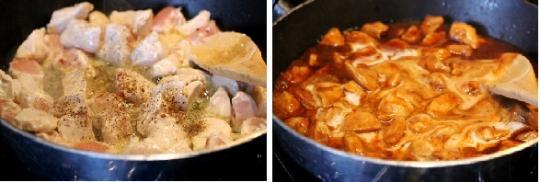 Ức gà nấu nước cốt dừa