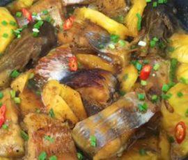 Món cá hú kho thơm ngon chuẩn vị