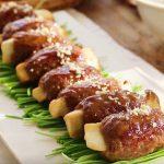 Món thịt bò bọc nấm ngon lạ miệng