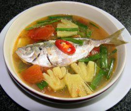 Món canh cá chua ngọt không bị tanh
