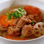 Món canh súp củ sen vừa ngon vừa chống ngán