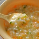 Món cháo thịt gà cà rốt cho bé yêu tại nhà