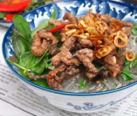 Món miến lươn nước bổ dưỡng tốt cho sức khỏe