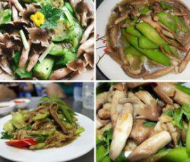 Món ăn từ nấm mối ngon bổ dưỡng
