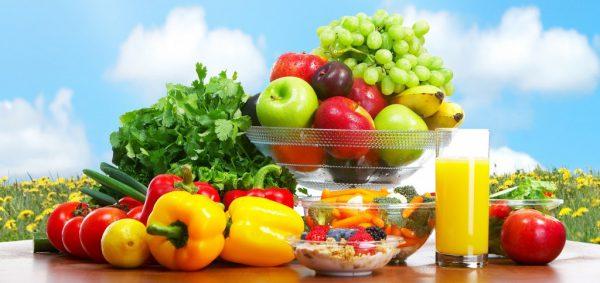 Tăng cường hoa quả và rau