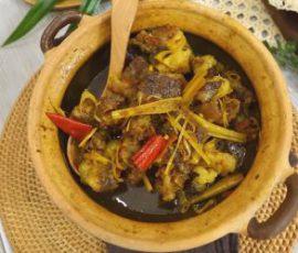 Món bò kho sả ớt thơm ngon đậm đà