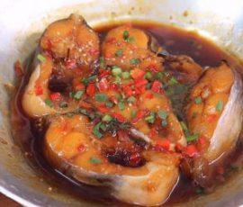 Món cá ba sa kho ngon tuyệt hấp dẫn