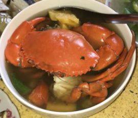 Món canh chua cua biển chuẩn vị Nam Bộ