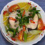 Món canh chua cá lóc chuẩn vị miền Tây
