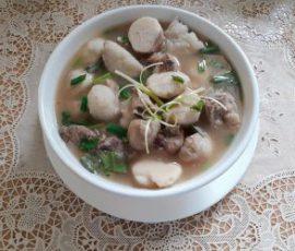 Món canh xương khoai sọ ngon ngọt bổ dưỡng