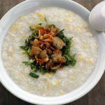 Món cháo ngao đậu xanh mát lành bổ dưỡng