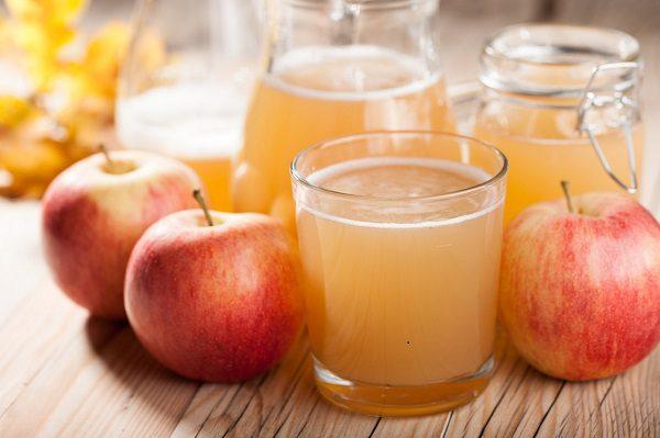 Nước táo ép giúp giảm cân hiệu quả