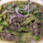 Món thịt bò xào mướp mềm ngon không dai