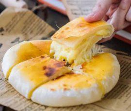 Món bánh sầu riêng phô mai lạ miệng cực ngon