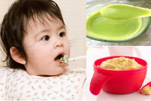 Món bột ăn dặm cho bé mau ăn chóng lớn