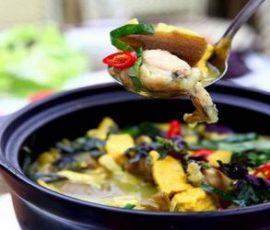 Món ếch nấu chuối đậu ngon đậm đà chuẩn vị Bắc
