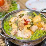 Món lẩu gà thập cẩm ấm bụng ngày mưa lạnh