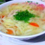 Món canh cải thảo thịt bò đơn giản tại nhà