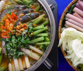 Món lẩu cá kèo chua cay ngon chuẩn vị miền Tây