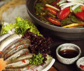 Món lẩu cá kèo rau đắng ngon đậm đà cho cuối tuần