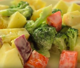 Món salad khoai tây kiểu Nhật mềm ngọt ngất ngây