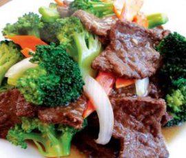 Món thịt bò xào rau cải ngon bổ dưỡng