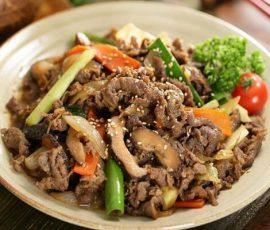 Món thịt bò xào nấm rơm ngon bổ dưỡng