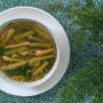 Món canh bồng khoai tôm khô đậm đà thơm ngon