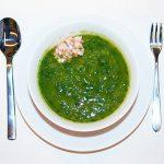 Món cháo cua đậu đỏ rau ngót cho bé 7 tháng tuổi