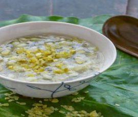 Món chè đậu xanh cốm ngon bổ dưỡng