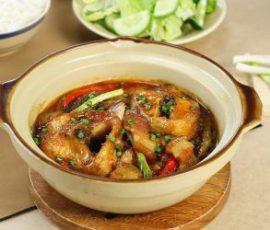 Món cá lóc kho tộ ngon cơm chuẩn vị