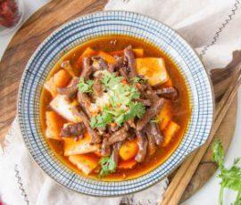 Món đậu hấp thịt bò ngon bổ dưỡng
