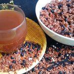 Trà gạo lứt đậu đen đẹp da giữ dáng