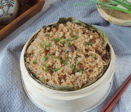 Món xôi sườn dẻo thơm kiểu Trung Hoa cho bữa sáng