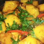 Món cá thu kho thơm chua chua mặn mặn ngon cơm