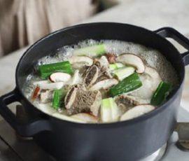 Món canh sườn cực ngon chuẩn vị Hàn Quốc