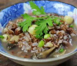 Món cháo gạo lứt ngon bổ dưỡng cho cả nhà