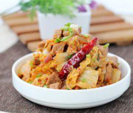 Món thịt bò xào kim chi chua cay đưa cơm