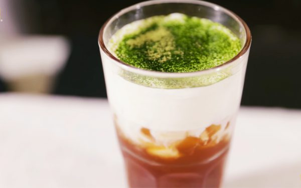 Món trà đen macchiato cực ngon chuẩn vị
