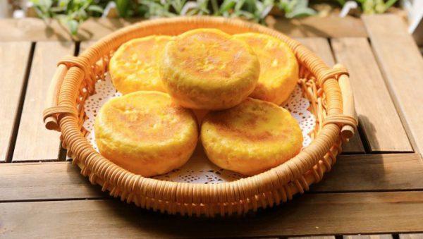 Bánh bí đỏ giúp bổ sung chất xơ cho con