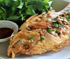 Món cá diêu hồng chiên xù giòn tan hấp dẫn