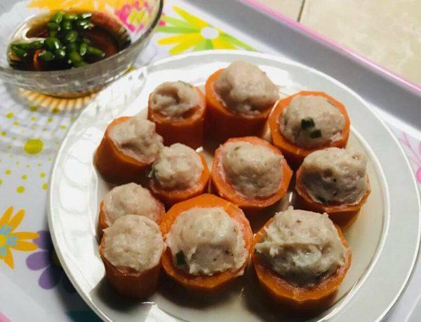 Món cà rốt nhồi cá thác lác đơn giản mà siêu ngon